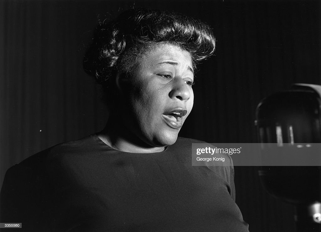 American jazz singer <a gi-track='captionPersonalityLinkClicked' href=/galleries/search?phrase=Ella+Fitzgerald&family=editorial&specificpeople=90780 ng-click='$event.stopPropagation()'>Ella Fitzgerald</a> (1917 - 1996).