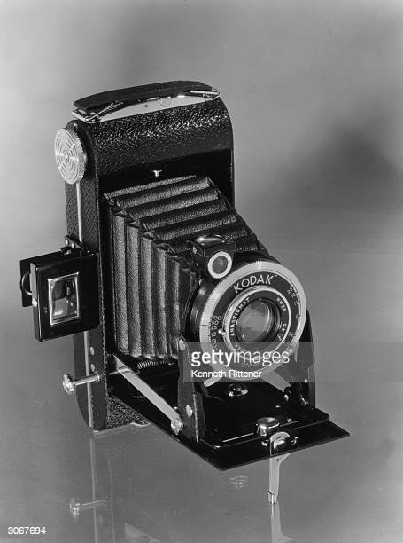 A Kodak retracting bellows camera with anastigmatic lens