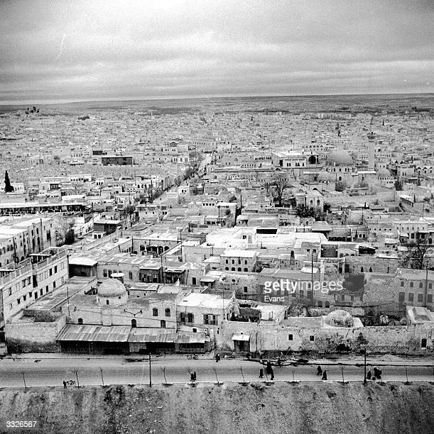 Aleppo also known as Halab a city said by legend to have been founded by Abraham