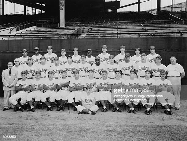 American baseball team the Brooklyn Dodgers Photo by Weegee/International Center of Photography/Getty Images