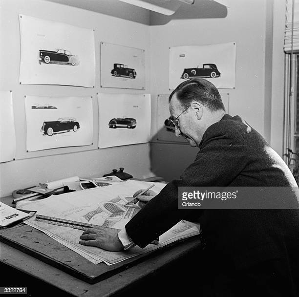 Engineer and designer Enos Derham who rebuilds existing cars