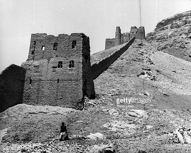 Ruins in the Hadhramaut region of East Southern Yemen Numerous ruins are found in Wadi Du'an and 'Adim indicating a considerable prosperity and...