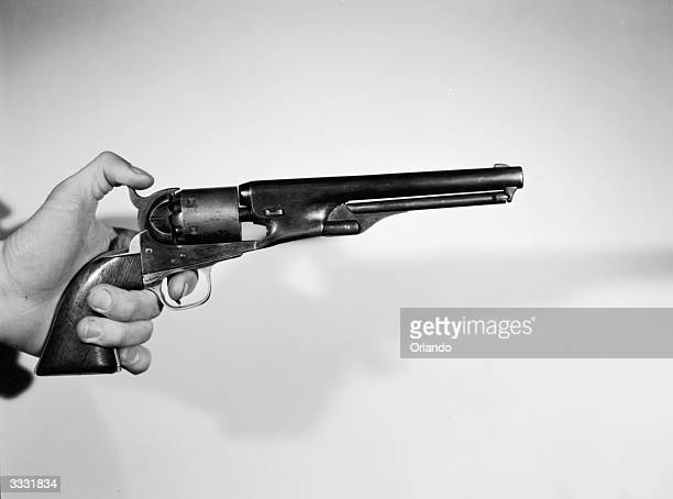 The 36 Colt Navy revolver one of the most widely used civilian weapons in America between 1861 and 1870 although it was supposedly a service weapon A...