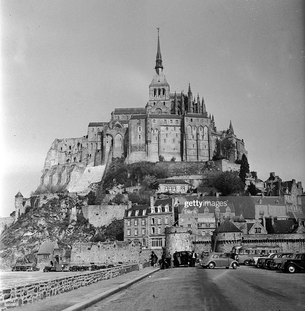 The Mont Saint Michel in Brittany, north France.