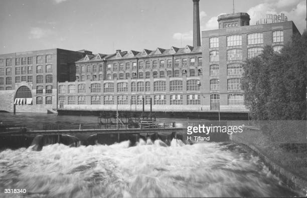 The Tampella linen factory in Tampere Finland