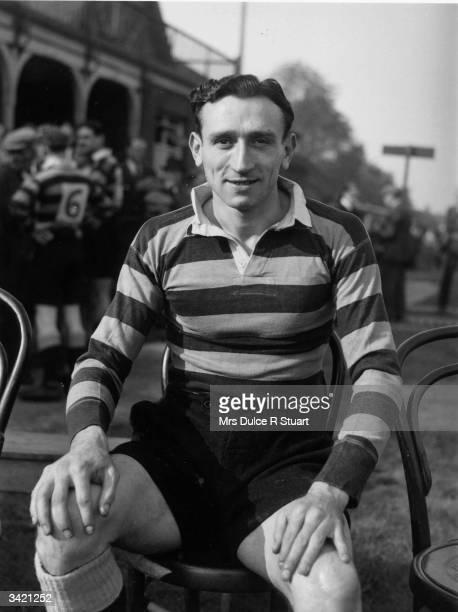 Welsh International rugby player Ken Jones