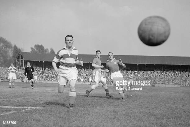 Queen Park Rangers playing Leicester Football Club