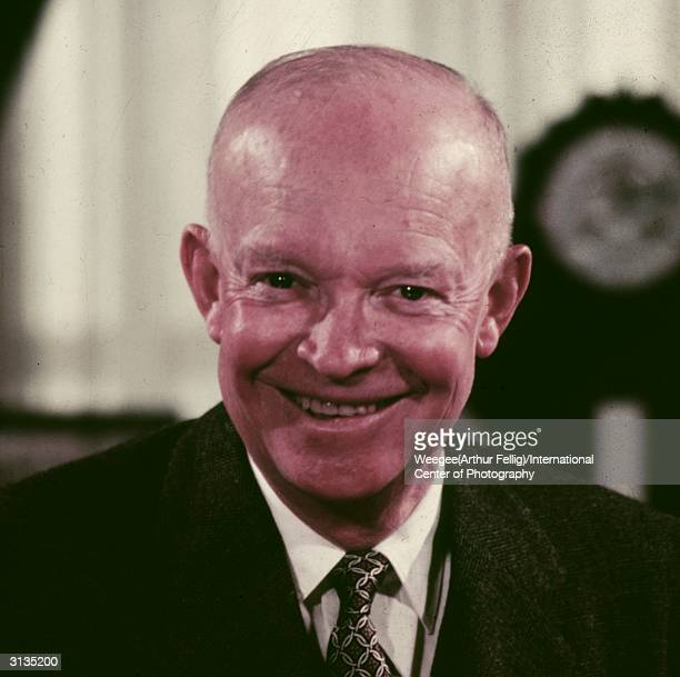 Dwight David Eisenhower the 34th president of the United States Often referred to as 'Ike' his leadership of the Allied forces during World War II...