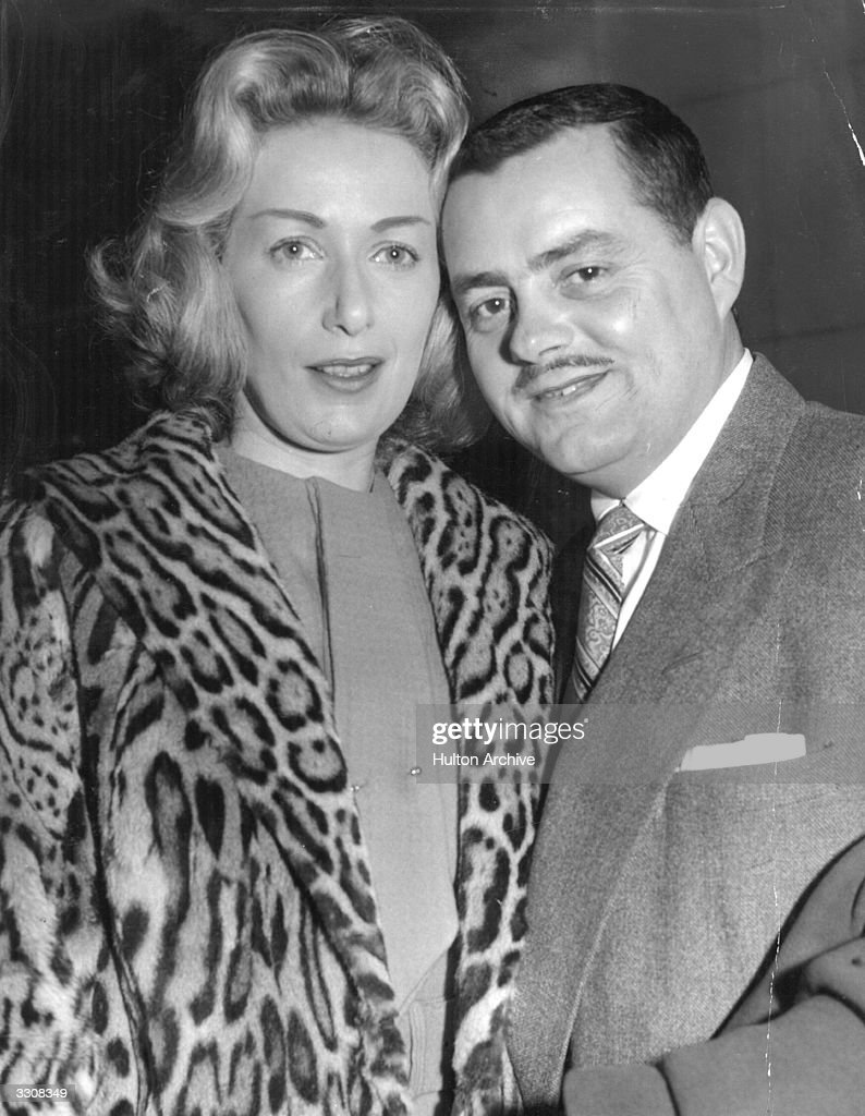 Trumpet player Eddie Calvert and his wife, Josephine. They were divorced during 1959.