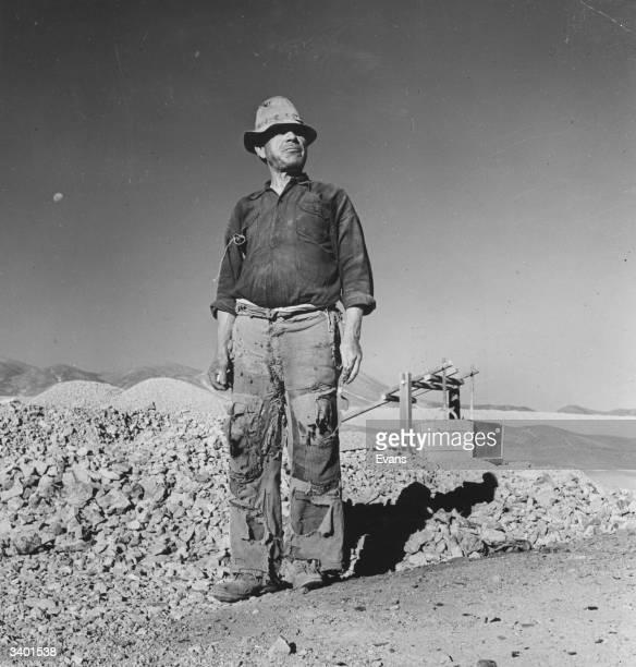 A Chilean copper miner
