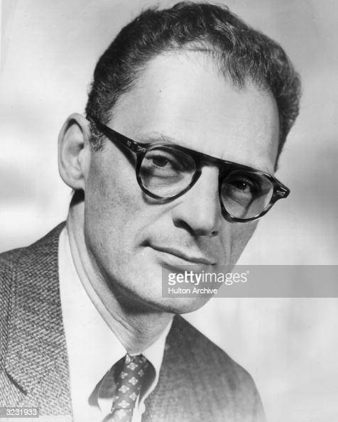 American playwright Arthur Miller