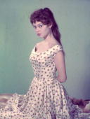 French actress Brigitte Bardot sultry star of 'Et Dieu Crea La Femme'
