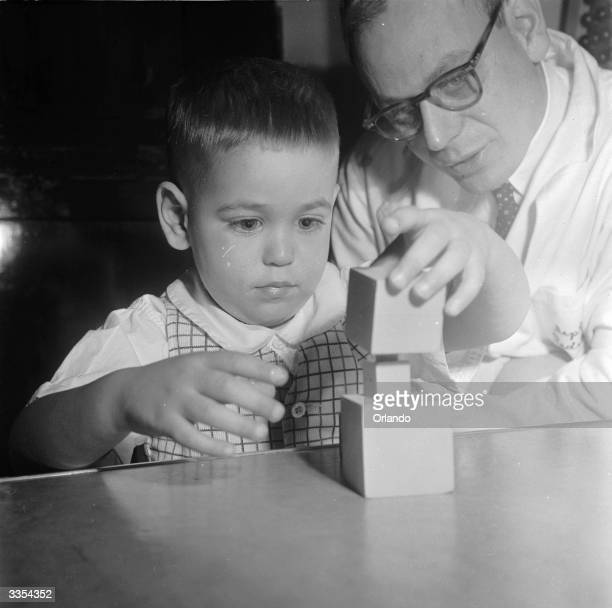 In a psychological test a child is asked to rebuild a graduated tower that it has been shown This is a test of motor control visual awareness and...