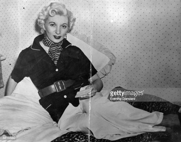 Ruth Ellis the last woman in Britain to be given the death penalty after being convicted of murdering her lover She was executed on the 13th July 1955
