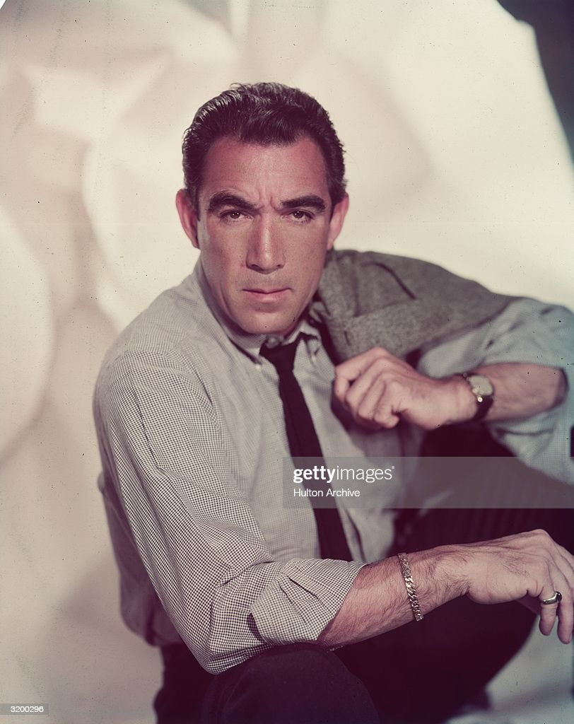 April 21 - 1915. Actor Anthony Quinn Born In Mexico On This Day.