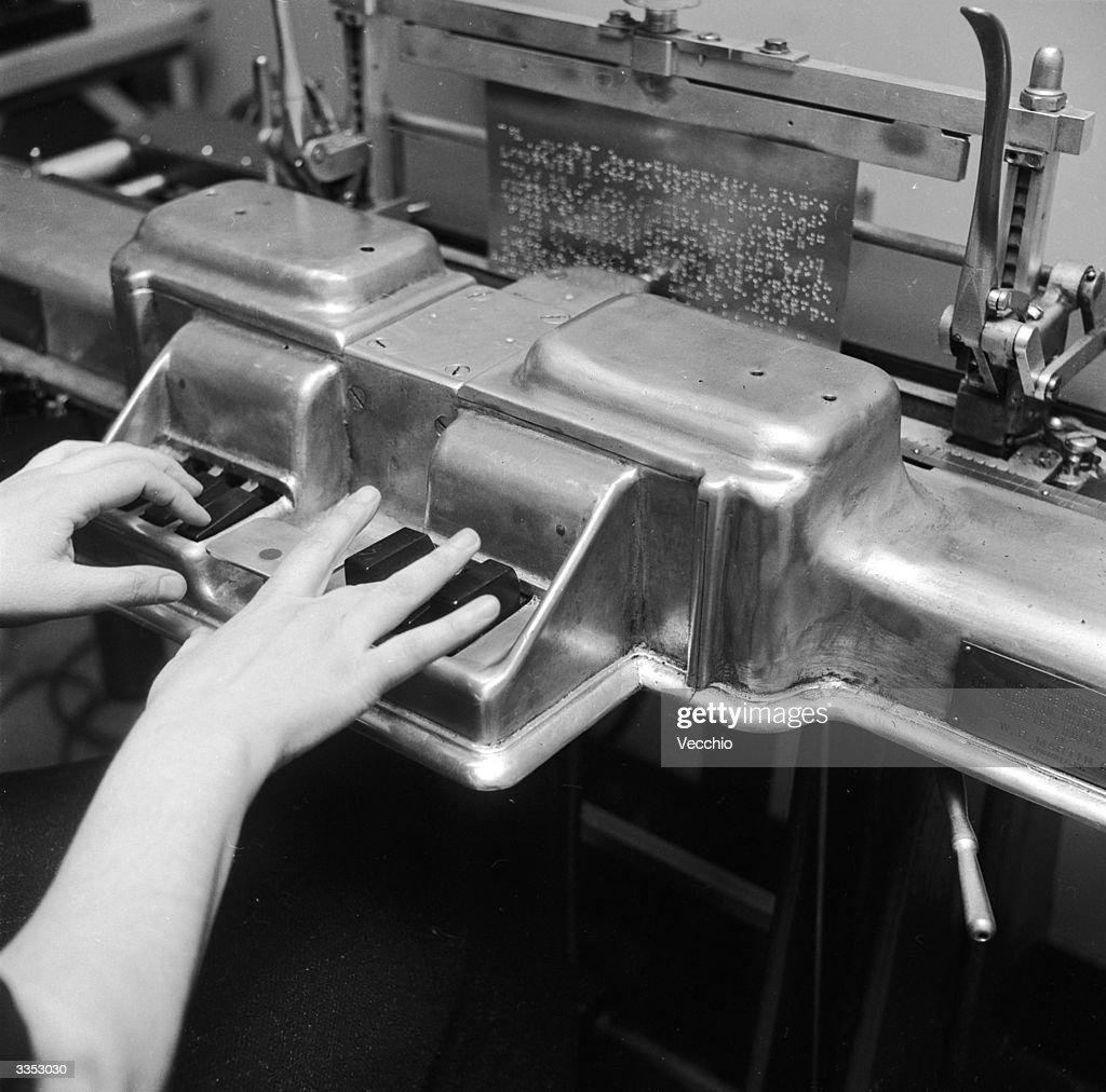 braille printing machine