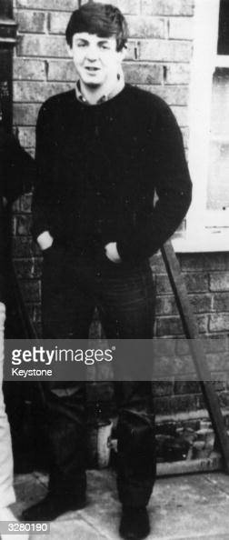 A preBeatle Paul McCartney at home in Liverpool
