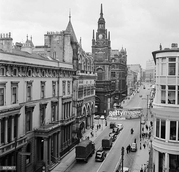 The church of St George's Tron in Buchanan Street in the heart of Glasgow Glasgow is the most densely populated city in Scotland and is an important...