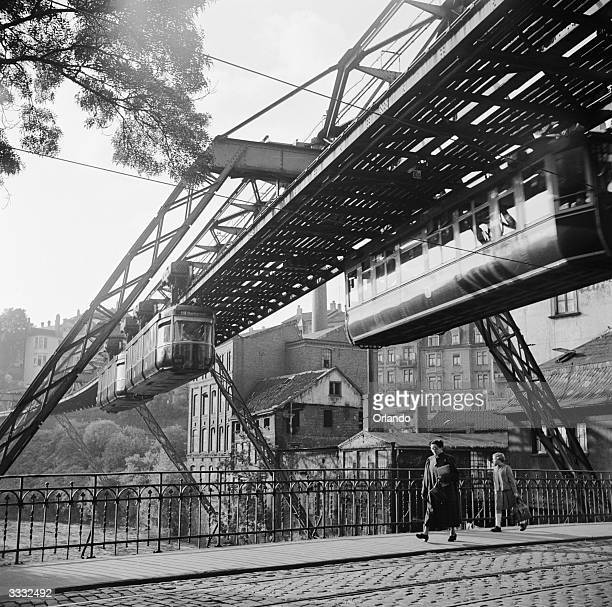 Suspended railway stock photos and pictures getty images
