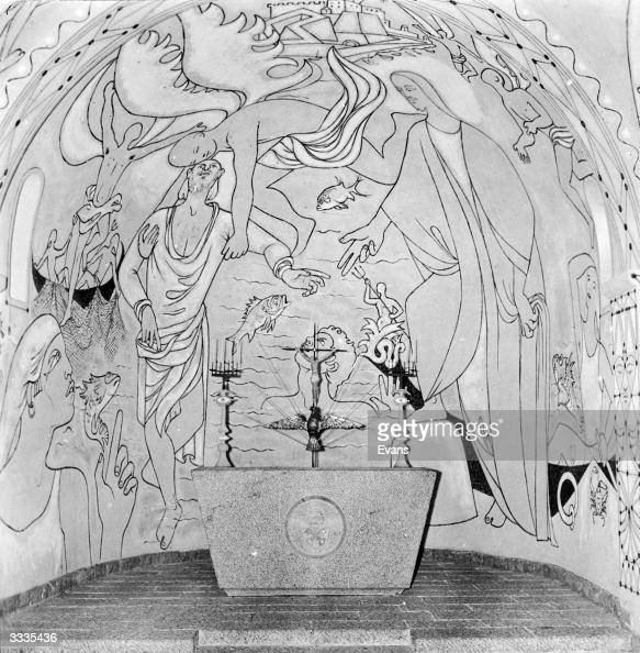 Modern fresco pictures getty images - Moderne fresco ...