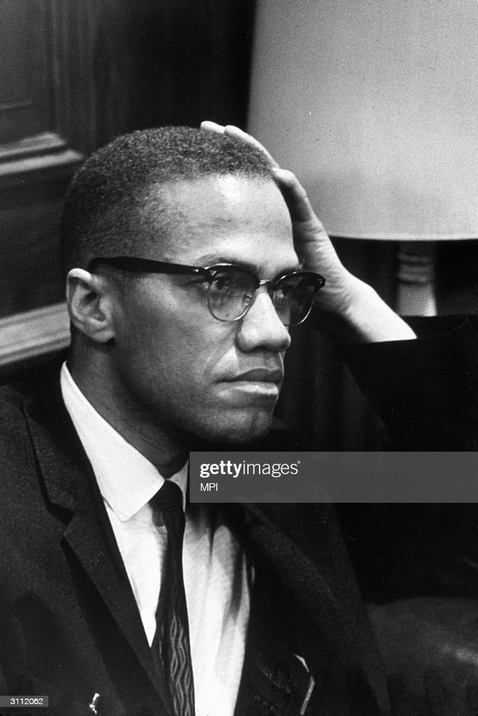 American muslim and civil rights leader Malcolm X born Malcolm Little he took his new name in 1952 to symbolize the lost surname of his African...