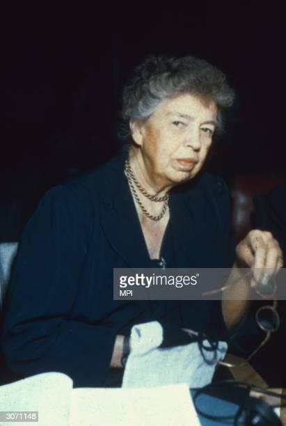 Eleanor Roosevelt wife of President Franklin Delano Roosevelt
