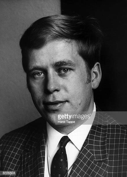 Headshot of Czech playwright and later president Vaclav Havel