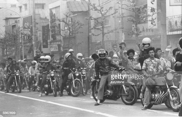 One of Japan's motorcycle gangs
