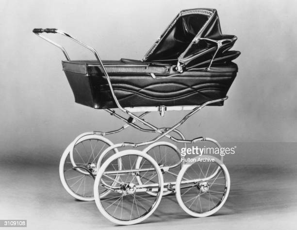 'The Countess' a pram cum carrycot made by Raleigh a bicycle company