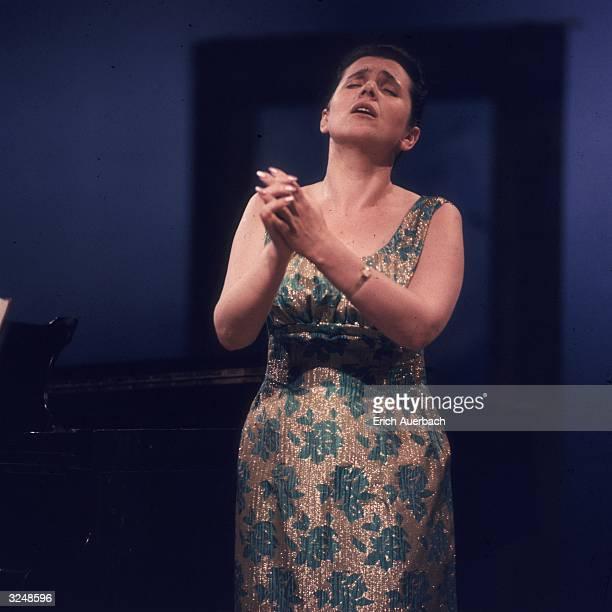 Russian soprano Galina Vishnevskaya