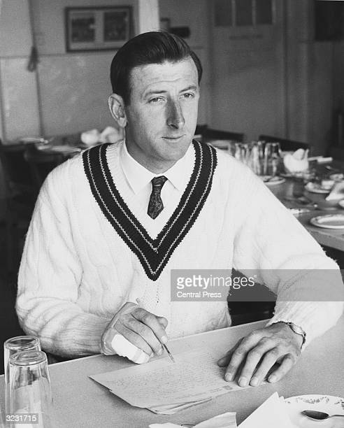 The Australian cricket captain and left handed batsman William Morris Lawry better known as Bill Lawry who played 67 Test Matches for Australia and...