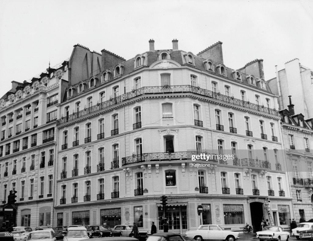 the building of the Christian Dior fashion house, Paris.