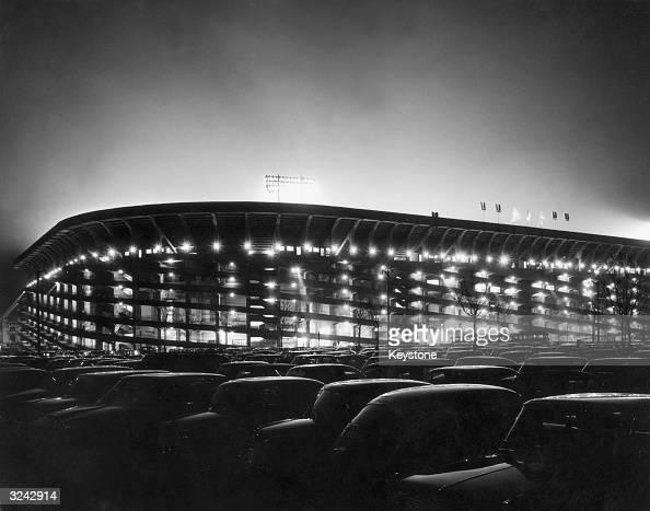 The San Siro football stadium in Milan where both AC Milan and Inter Milan play their home matches