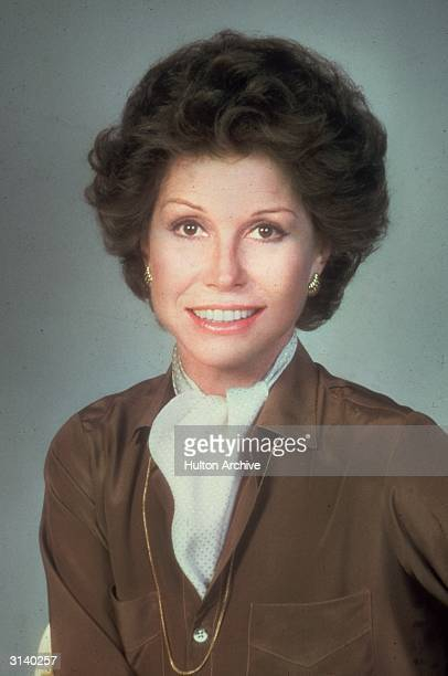 American actress Mary Tyler Moore winner of five Emmy awards for her appearances in television comedies of the 1960s and 1970s