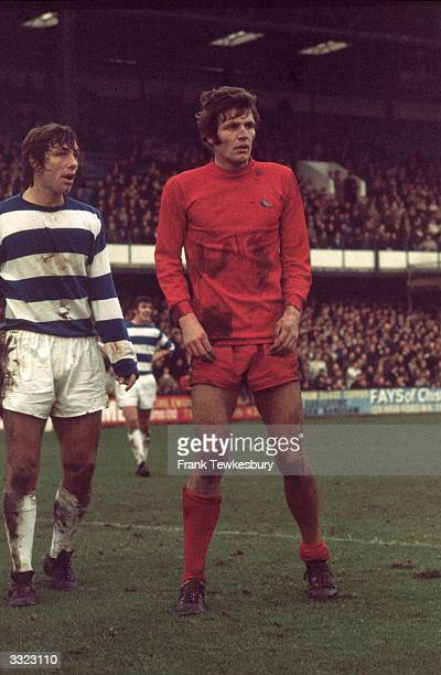 John Toshack of Cardiff City during a match against Queens Park Rangers