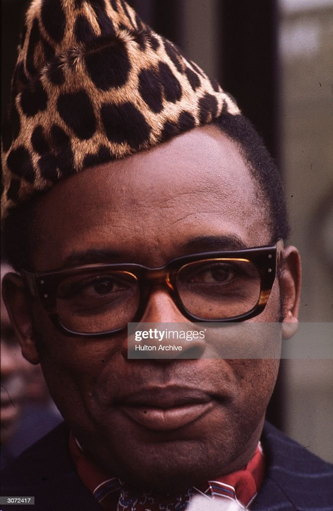 Mobutu Sese Seko (Joseph Desire Mobutu), Zairean soldier, politician and President of the Democratic Republic of the Congo.