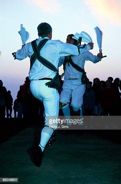 UNSPECIFIED circa 1970 Photo of MORRIS DANCING