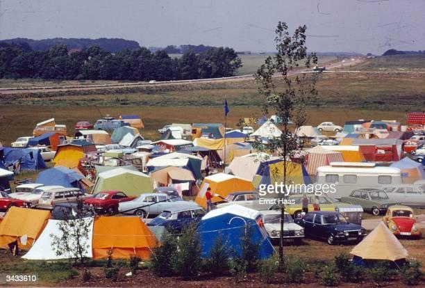A campsite near Kiel West Germany In Germany book