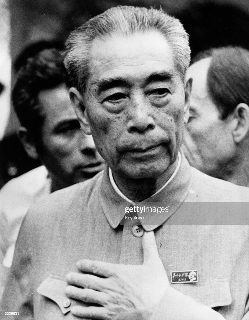 Chou En Lai Chinese premier