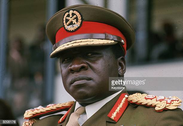 Ugandan soldier dictactor and head of state General Idi Amin