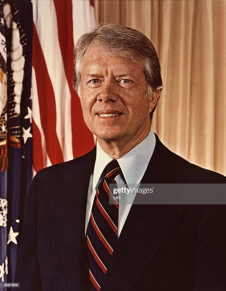 American Democratic politician and the 39th President of the United States of America Jimmy Carter