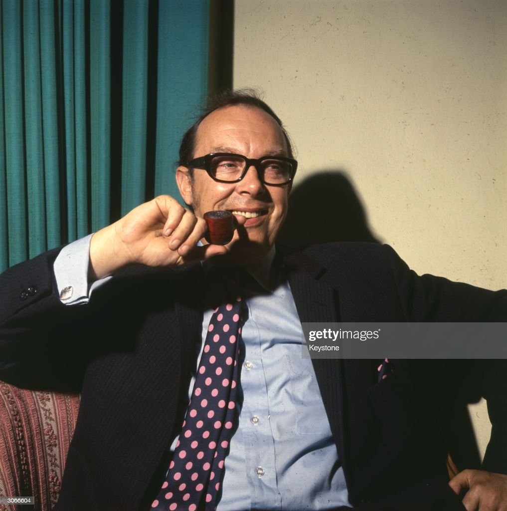 British comedian <a gi-track='captionPersonalityLinkClicked' href=/galleries/search?phrase=Eric+Morecambe&family=editorial&specificpeople=215236 ng-click='$event.stopPropagation()'>Eric Morecambe</a> (1924 - 1984), born John Eric Bartholomew, one half of the popular TV comedy duo Morecambe and Wise.