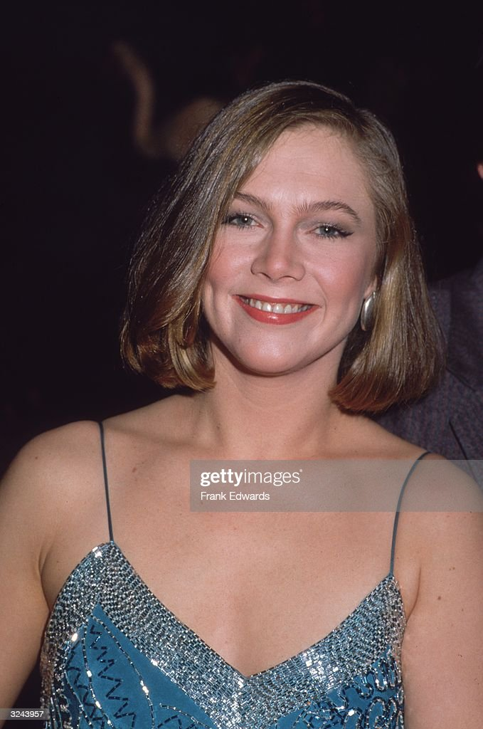 Headshot portrait of American actor Kathleen Turner ...