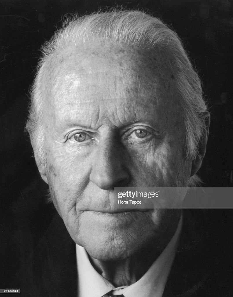 Closeup studio portrait of Norwegian explorer and anthropologist <a gi-track='captionPersonalityLinkClicked' href=/galleries/search?phrase=Thor+Heyerdahl&family=editorial&specificpeople=931459 ng-click='$event.stopPropagation()'>Thor Heyerdahl</a> (1914 - 2002).