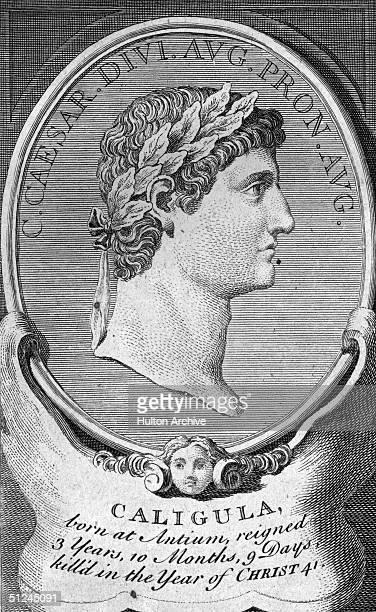 Circa 40 AD Roman emperor Caligula