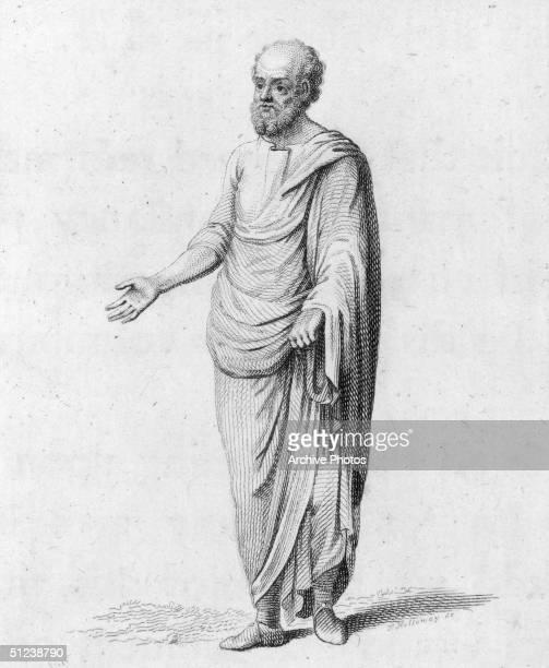 Circa 430 BC Socrates Athenian Greek Philosopher