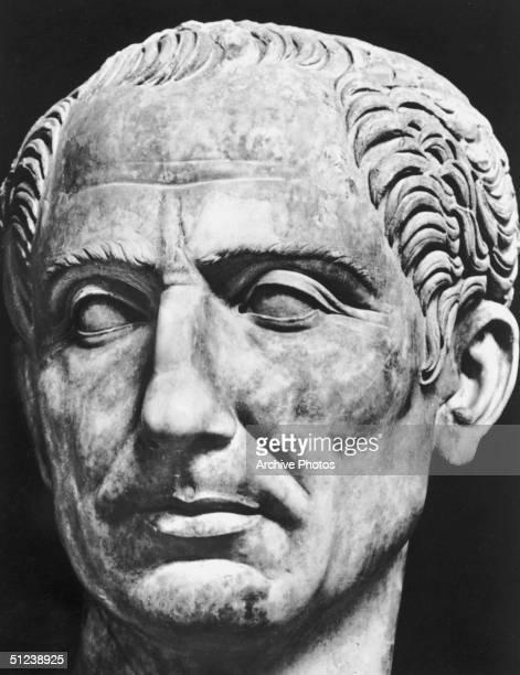 Circa 44 BC Sculpture of Julius Caesar Roman general and statesman