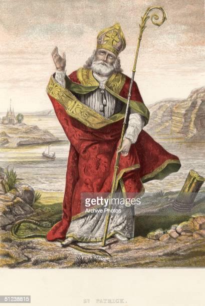 Religious saint foto e immagini stock getty images - Immagini st patrick a colori ...