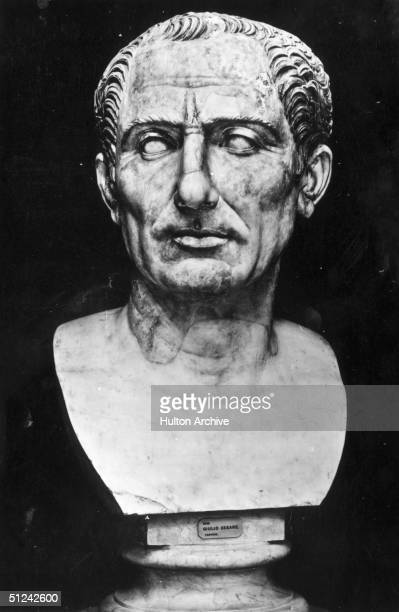 Circa 50 BC Gaius Julius Caesar Roman general and statesman who laid the foundations for the Roman imperial system
