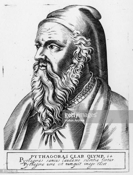Circa 530 BC Philosopher sage and mathematician Pythagoras